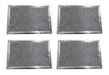 4 Pack Aluminum Mesh Microwave Grease Filter for Frigidaire 5304464105- NEW