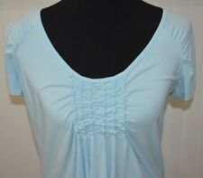 Fresh Produce Medium Shirt Women's Top Light Blue NWOT