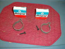 NOS MOPAR 1967-8 HP 440 TAILPIPE CLAMPS CHARGER GTX R/T
