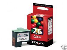 CARTOUCHE LEXMARK COULEUR 100% NEUVE GROSSE CAPACITE N° 26 / 10n0026 27 16 17 xl