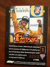Australian F1 Grand Prix 1995 Fastest Laps - Michael Schumacher Card 4659/5000