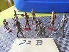 9 Vintage Lead Civil War Soldier Figurines
