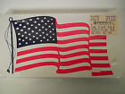 24 USA American Flag CAR PLATE TAG  Great for truck SUV Boat RV 6 x 12 PLASTIC