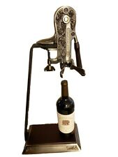 """Vintner's Reserve 24"""" Reserve Table Top Opener With Stand Corkscrew. Like."""