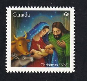 Canada MNH 2020 Christmas Nativity, MNH 'P' die-cut from QP, sc#3254i