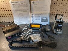 Kenwood TM-D700A FM Dual Band Ham Radio Transceiver w/ Mic + Extras!