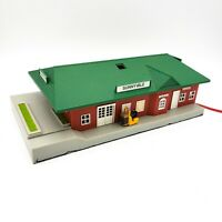 HO Scale Bachmann 46217 Sunnyvale Lighted Passenger Train Station Model