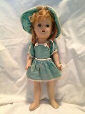 Vintage Vogue Dolls Composition Doll Open/Shut Eyes Wig Hair