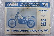 KTM 620 LC4 Catalogue de Pièces rechange Katalog Spare Parts Manual #R5530