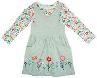 Girls Flower Garden Dress & Long Sleeve Top 2 Piece Summer Set 1 to 6 Years