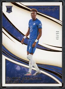 2020 PANINI IMMACULATE SOCCER TAMMY ABRAHAM CHELSEA 49/50 ROOKIE BRONZE