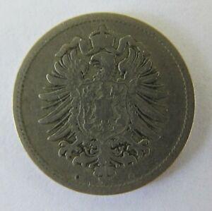 1876 Germany - Empire 10 Pfennig KM# 4