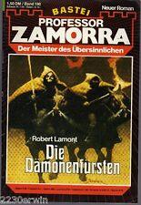 PROFESSOR ZAMORRA Band 190 / Robert Lamont / (Bastei Verlag 1974 - aktuell)