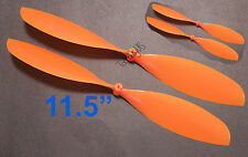 """4pcs 4x11.5"""" ø1.4mm Rubber Band Powered Plane Air Plane Propellers, US 001-01010"""
