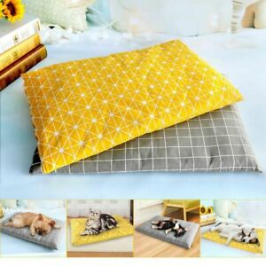 Dog Bed Mat Soft Removable Cover Cushion House Sleeping Mattress Pad Pet Care