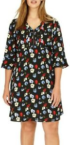STUDIO 8 Andrea Multi-Coloured Shift Dress Size 22 Rrp£110 *Brand New with Tags*