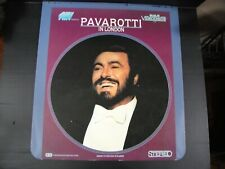 RCA  CED Videodisc Some Pavarotti In London