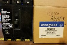 NEW WESTINGHOUSE MCP0322CR 3 AMP 3-POLE MOTOR CIRCUIT PROTECTOR EL3100R LIMITER