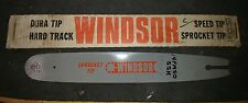 "NOS 14"" Windsor 1/4"" .050 Sprocket Tip Bar 14FM50SSK 14 FM 50 SSK Skil Partner"