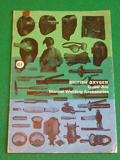 BOC QUASI ARC MANUAL WELDING ACCESSORIES BROCHURE 1965 (CARDS BRITISH OXYGEN)