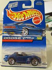 Hot Wheels Dodge Viper RT/10 #1006 Blue