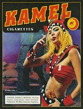 "TIN SIGN ""Kamel Cigarettes"" Nicotine Deco Garage Wall Decor"