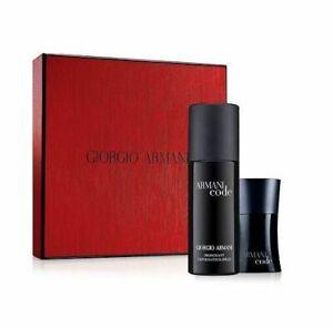 Armani Code Pour Homme 1.oz / 30 ml Eau de Toilette and Deodorant Body Spray Set