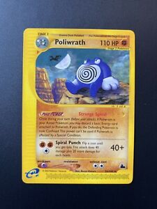 Poliwrath 26/144 Rare Skyridge 2003 Near Mint Pokemon Card