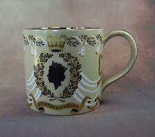Wedgwood - Royal Commemorative Mug - 25th Wedding Anniversary (Liz+Philip) 1972