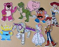 Toy Story Selection Card Making Toppers - Die Cuts 9 Pieces Embellishments