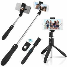 Bluetooth Selfie Stick Spiegel Monopod Standfußhalterung für Android iPhone Jun