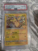 PSA 10 GEM MINT - 2021 Pokemon McDonald's Promo - Pikachu HOLO 25/25