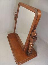 Antique Tiger Oak Swing Mirror , Dresser Mirror    ref 777