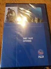 Dry Suit Diving (Dvd, 2005) Padi Scuba Instruction Technique Information New