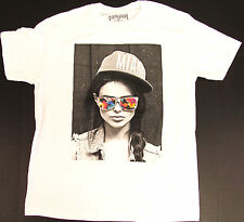 FIFTH SUN T-shirt Miami Floral Sunglasses Woman Adult Mens Tee Large White New