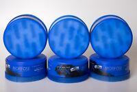 6x Morfose New Generation Extra Aqua hair Wax 150ml Blau No3 Haar Gel Wax Gummy