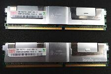 2X1GB Hynix New Memory RAM DDR HYMP112F72CP8N3-Y5 AC-C ECC 1Rx8 PC2-5300F-555-11
