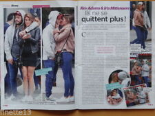 IRIS MITTENAERE MISS UNIVERS & KEV ADAMS Coupure de presse 2017 French Clippings