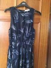 MARKS AND SPENCER PER UNA NAVY MAXI DRESS SIZE 10 BRAND NEW WITH TAGS