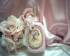 Shabby Victorian Chic Lotion/Soap Dispenser~Victorian Portrait~JEWELS~Pink~OOAK