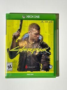Cyberpunk 2077 Microsoft Xbox One Video Game Two Disc