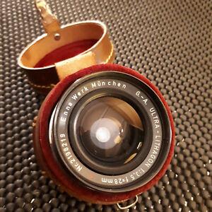 ENNA WERK ULTRA LITHAGON 28mm F3.5 LENS - Made in W.Germany EXAKTA MOUNT -