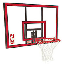 New Spalding 79351 Basketball 44 in. Polycarbonate Backboard and Rim Net Combo