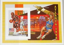 MALI 1995 Block IV U Summer Olympics 1996 Atlanta Basketball Space Satellite MNH