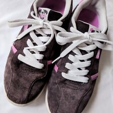 Rare Vintage Vans Elise Sneakers in Chocolate Brown/Cotton Candy Pink 10M