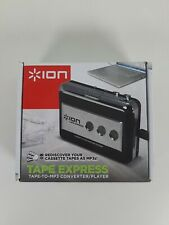 ION Tape Express Cassette To MP3 Converter Player Audio Tech USB CD Software