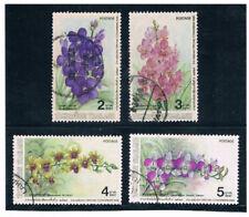 THAILAND 1986 Orchid Flowers (Flora) FU