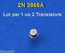 *** LOT DE 1 OU 2 TRANSISTORS RF  GP BJT - 2N3866A  ***