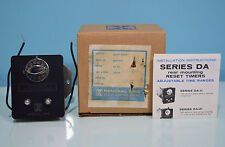 NIB Industrial Timer 57 sec DA11 General Time Rear Mounting Minute Delay Reset