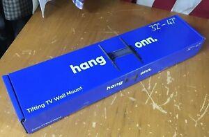 "New HANG ONN TILTING TV LED LCD WALL hanging MOUNT Bracket 32-47"""
